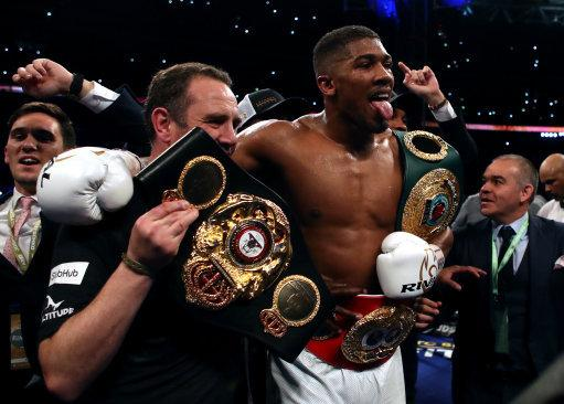 Anthony Joshua Will Fight Jarrell Miller In His Next Fight In June