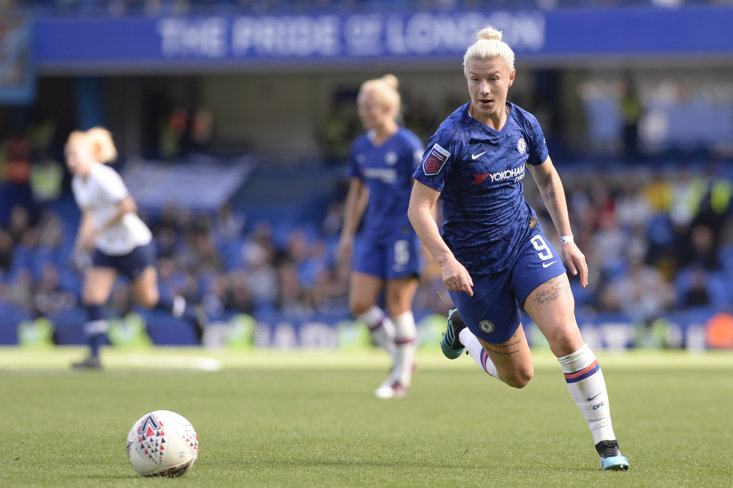 Beth England's strike was all that separated Chelsea and Spurs