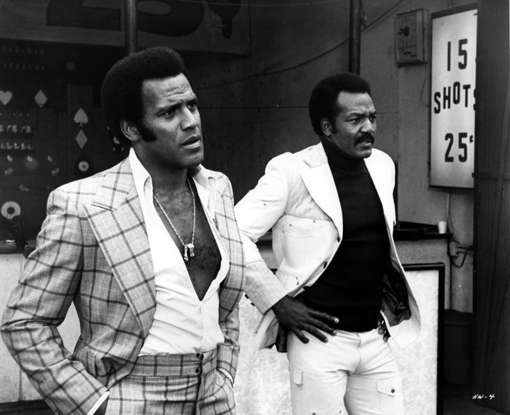 Fred Williamson and Jim Brown