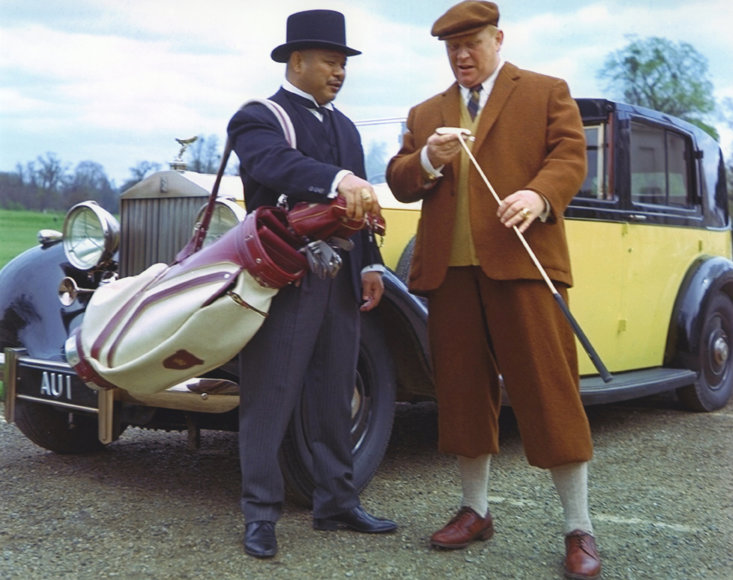 Oddjob and Goldfinger