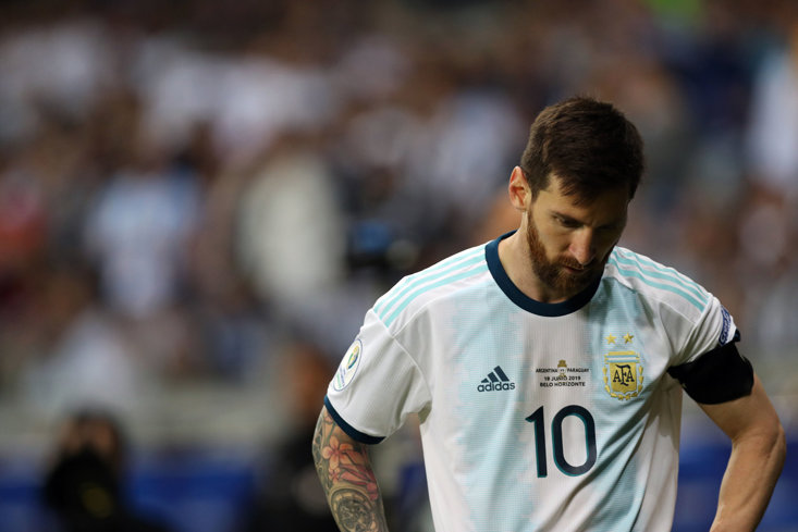 The world may never get to see Lionel Messi winning an international tournament with Argentina.
