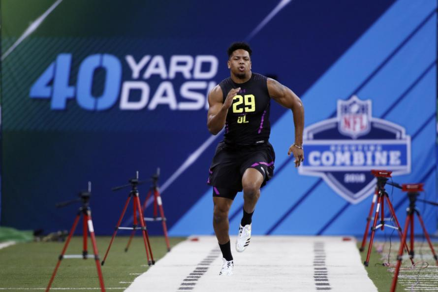 Saints trade up in NFL Draft, select Marcus Davenport
