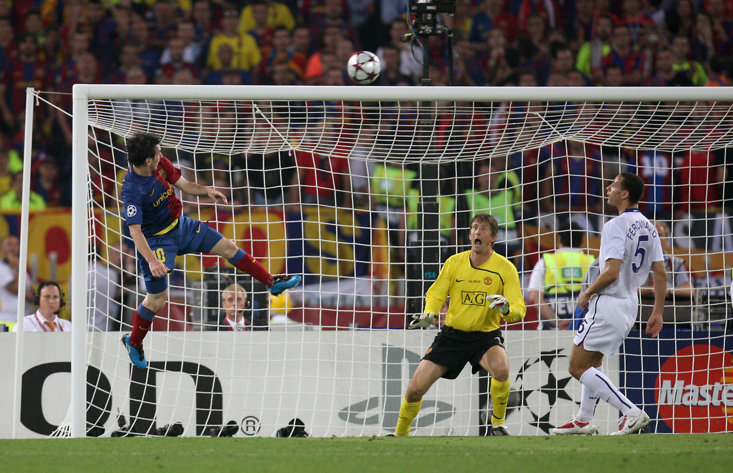 c0f3c0a93 On This Day  Lionel Messi Proves He Can Do Anything As Barcelona Star  Breaks Manchester United Hearts