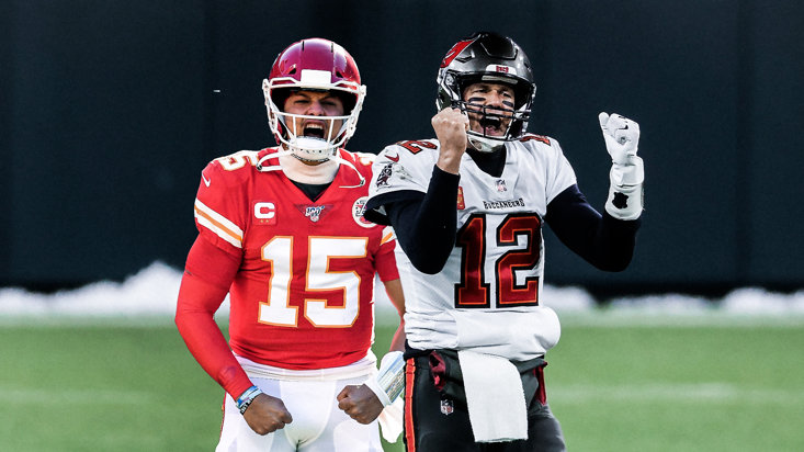 MAHOMES AND BRADY GO HEAD-TO-HEAD ON SUNDAY