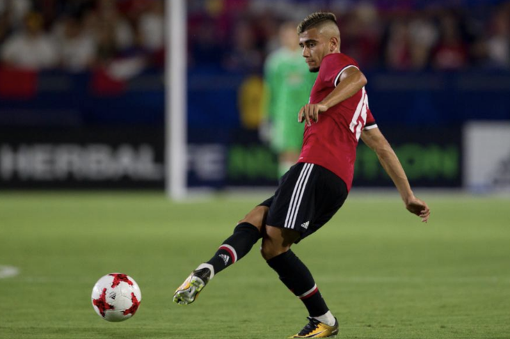 Andreas Pereira has been speaking about his Manchester United future