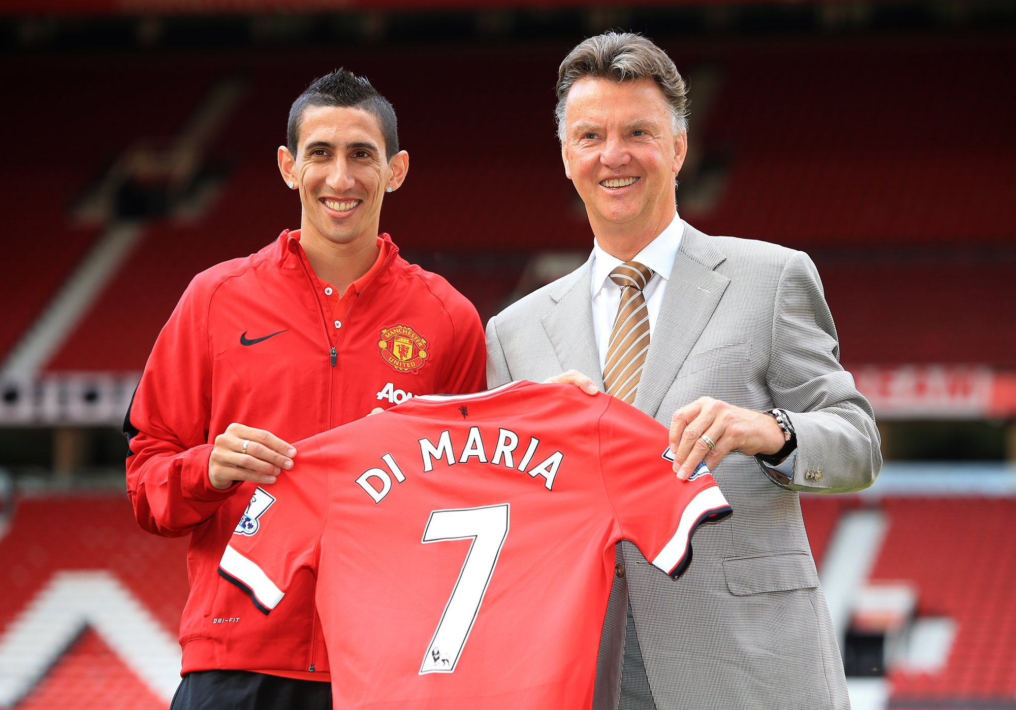 Do The Stats Prove Louis Van Gaal Was Right About Angel Di