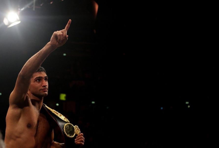 Amir Khan Is Once Again Stepping Into The Ring For A Massive Fight Against Terence Crawford
