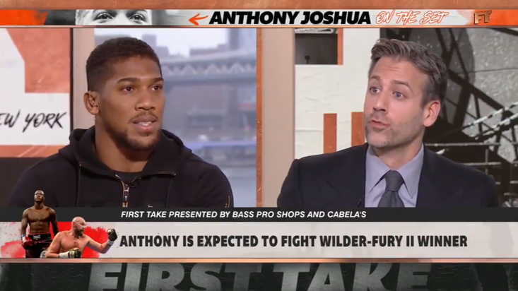 Anthony Joshua states his intent regarding Wilder and Fury in latest interview
