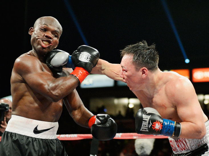 Timothy Bradley's speech was slurred for two months following the bout