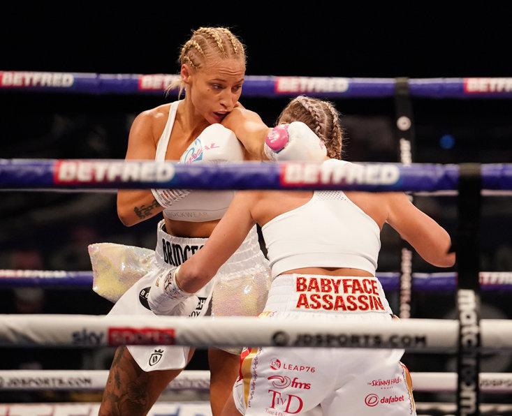 Ebanie Bridges - Dave Thompson/Matchroom Boxing