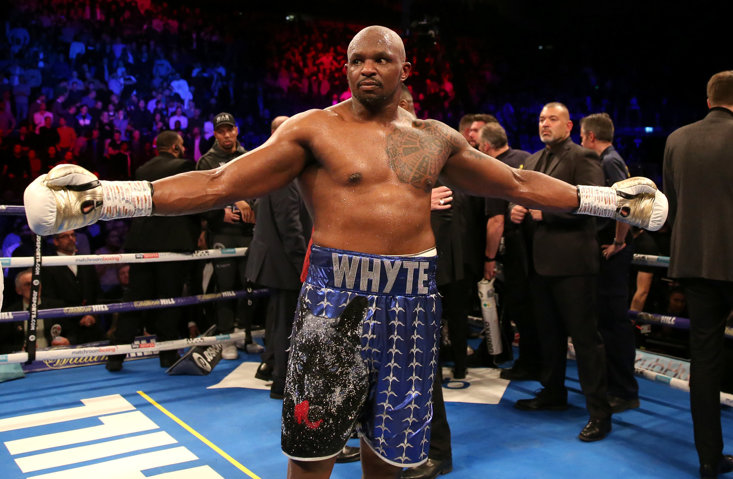 Dillian Whyte is reported to be joining Top Rank