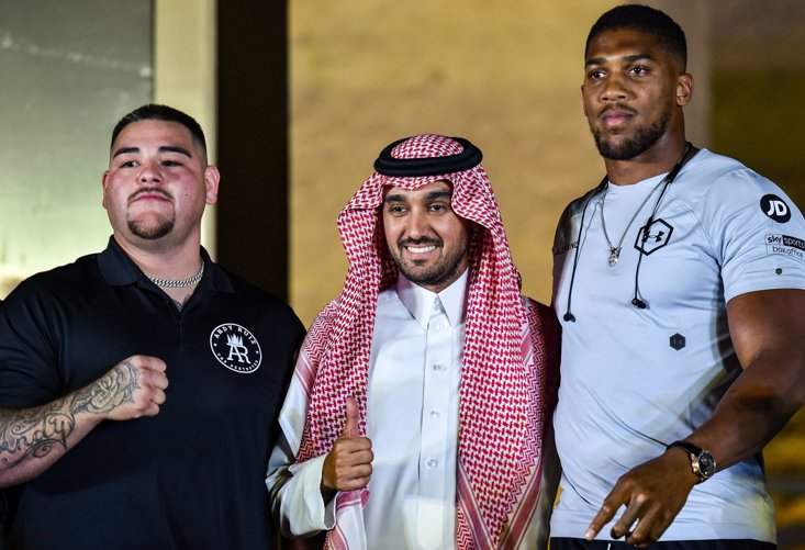 On December 7, Saudi Arabia stages the rematch between Anthony Joshua and Andy Ruiz Jr.