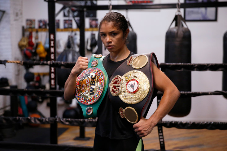 Jessica McCaskill, the woman behind one of boxing's biggest upsets (Getty Images)