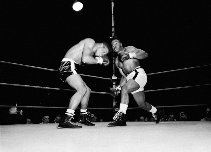 Sonny Liston, another boxer who fell into Carbo's grasp