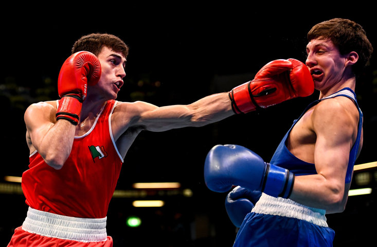 The boxing qualifiers in London for the Tokyo Games have been forced behind closed doors