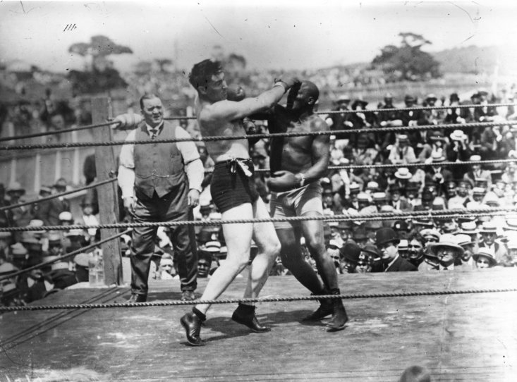 Jack Johnson and Jess Willard Share 26 rounds in Havana