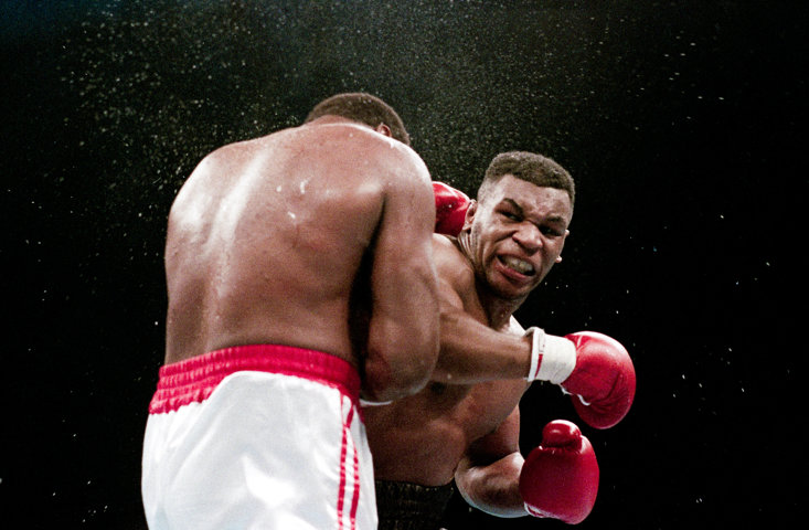 Mike Tyson stopped Larry Holmes inside four rounds in 1988