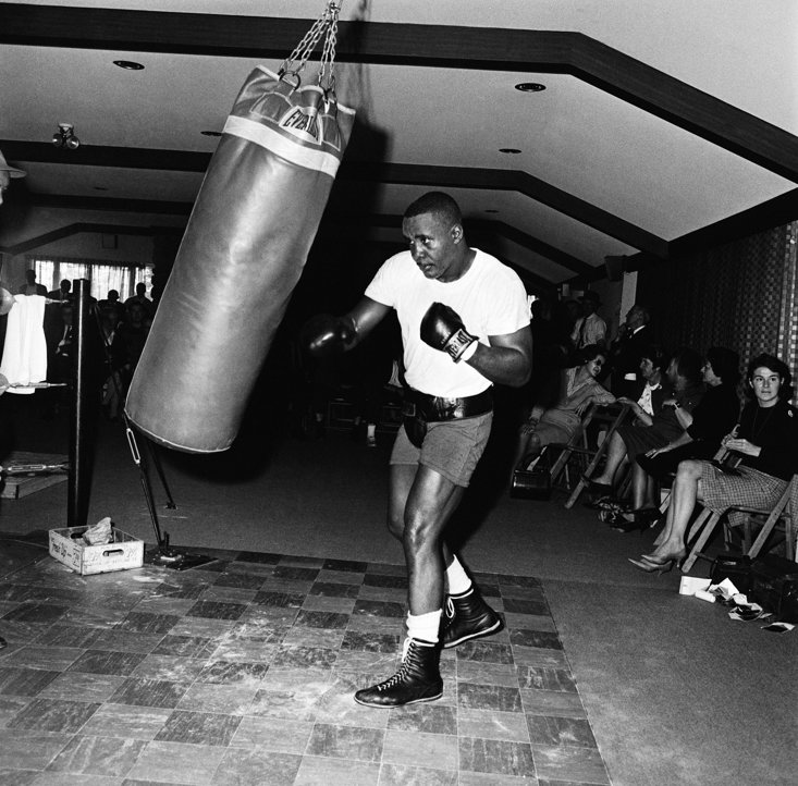 Liston was an intimidating figure in and out of the ring