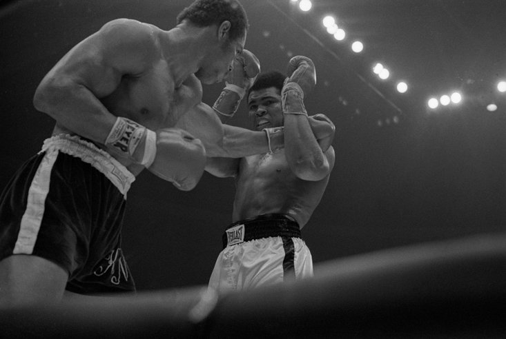 The unfavoured Norton puts Ali through his paces (Getty Images)