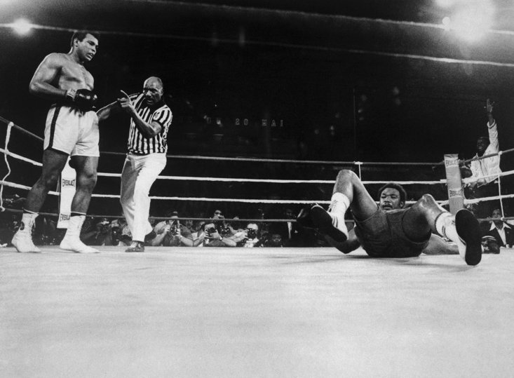 Defeat in zaire to Ali decimated George Foreman's confidence