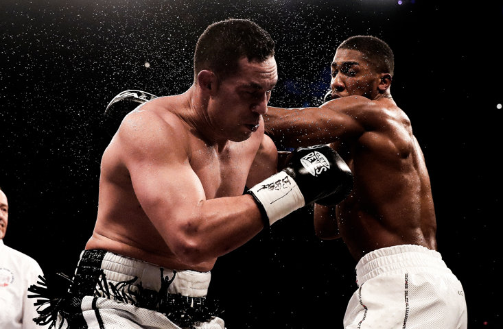 Parker ended Anthony Joshua's 20 fight knockout streak by taking him to the distance in 2018.