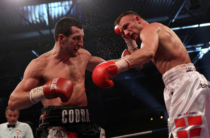 Froch suffered his first professional defeat to Kessler following the eruption of Eyjafjallajökull
