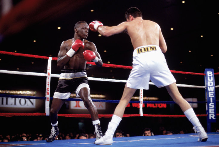 Jeff Mayweather was a world champion himself between 1994 and 1995