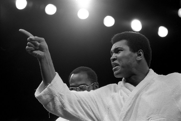 ALI WOULD LOSE THREE YEARS OF HIS PRIME FIGHTING YEARS SERVING HIS BAN (PA IMAGES)