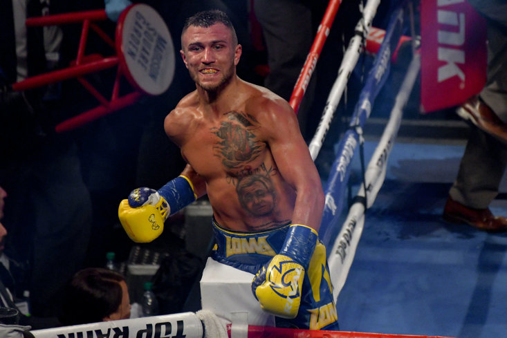 After a phenomenal amateur career, Lomachenko is sweeping through the paid ranks.
