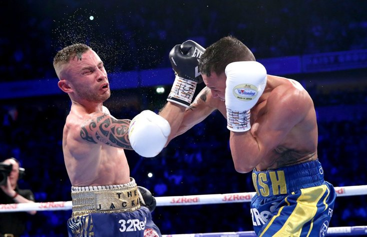 Warrington plans to go Stateside after Frampton upset