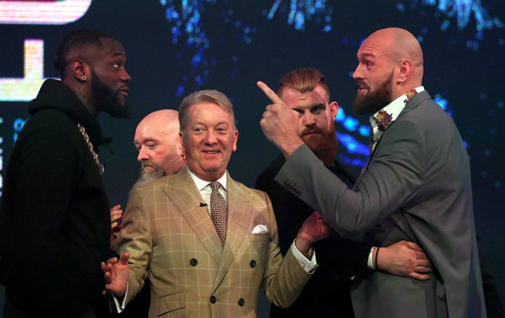 Tyson Fury And Deontay Wilder Are Fighting on Twitter Now With No Sign Of Their Anticipated Rematch