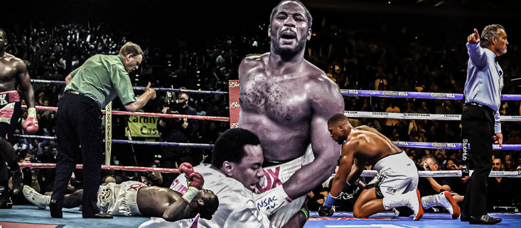 Anthony Joshua can learn from Lennox Lewis' own career setbacks