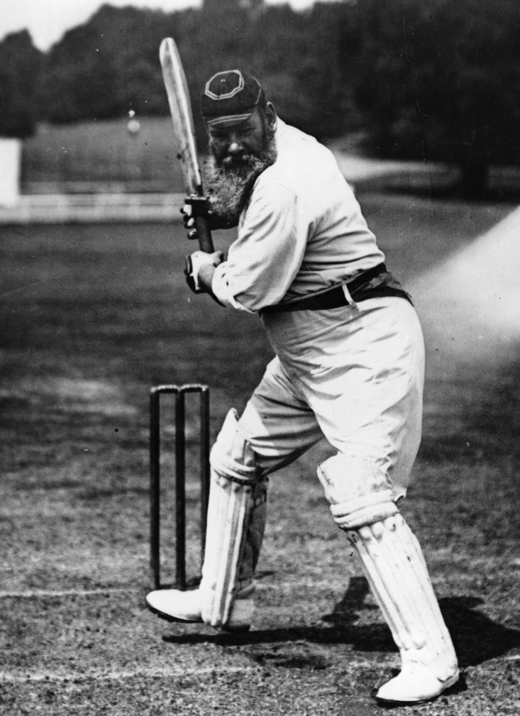 W.G. Grace (Getty Images)