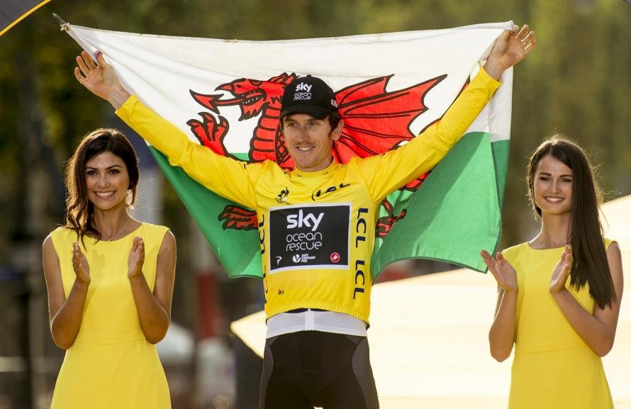 Geraint Thomas becomes the third Britain and first Welshman to win the Tour de France