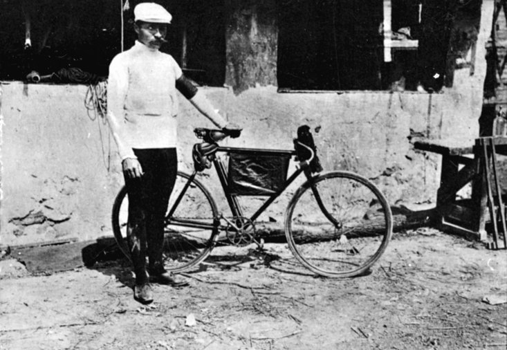 The short-lived winner of the first Tour de France, Maurice Garin (Getty Images)