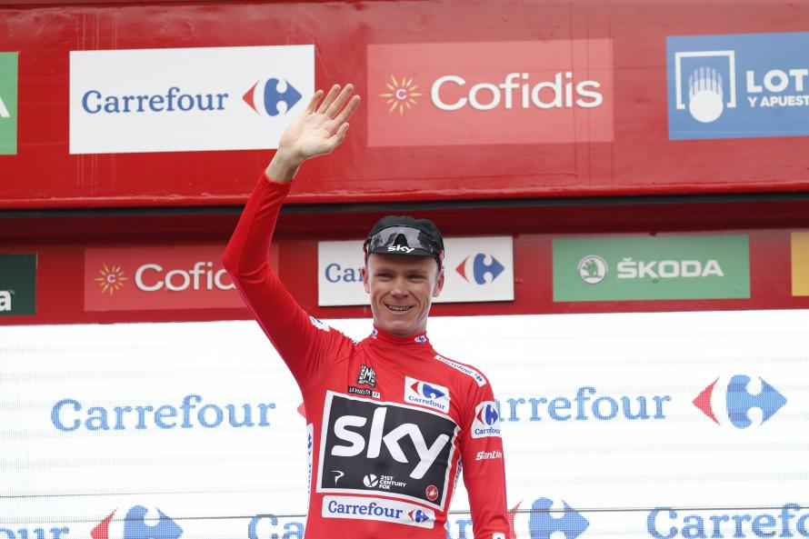 Trentin wins Vuelta 10th stage, Froome retains red jersey