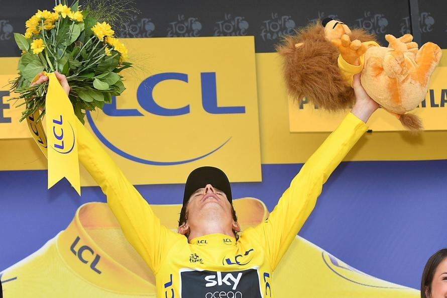 Geraint Thomas has become the first Welshman to win the Tour de France