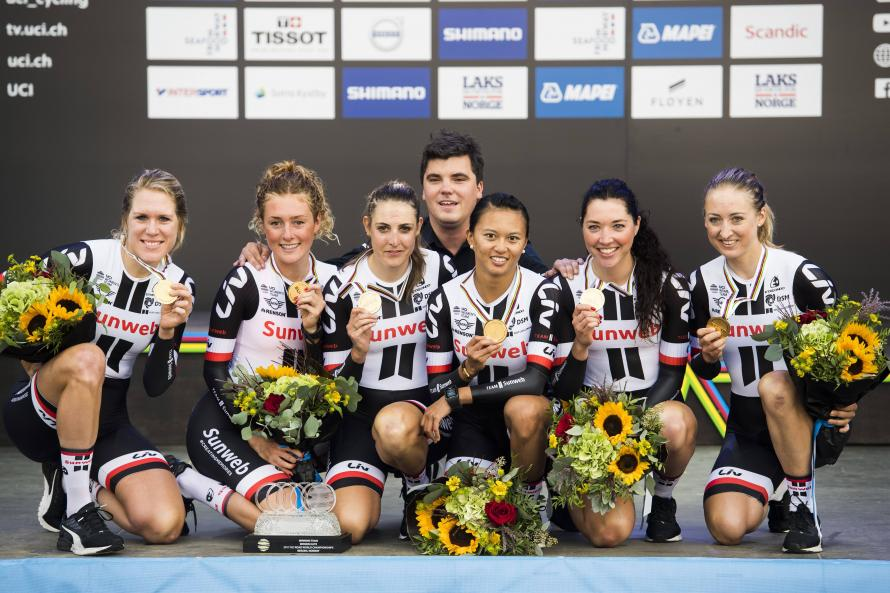 Sunweb's Men Follow Women's Example By Claiming World Championship Team Time Trial