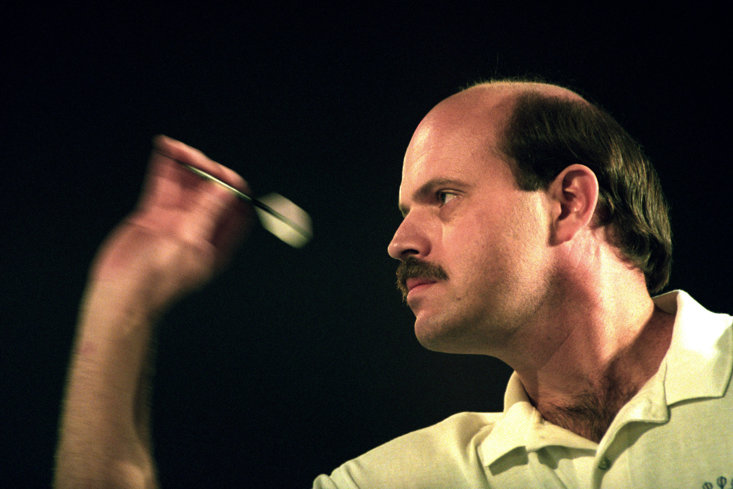 American Larry Butler shocked the field to win the first World Matchplay Darts in 1994