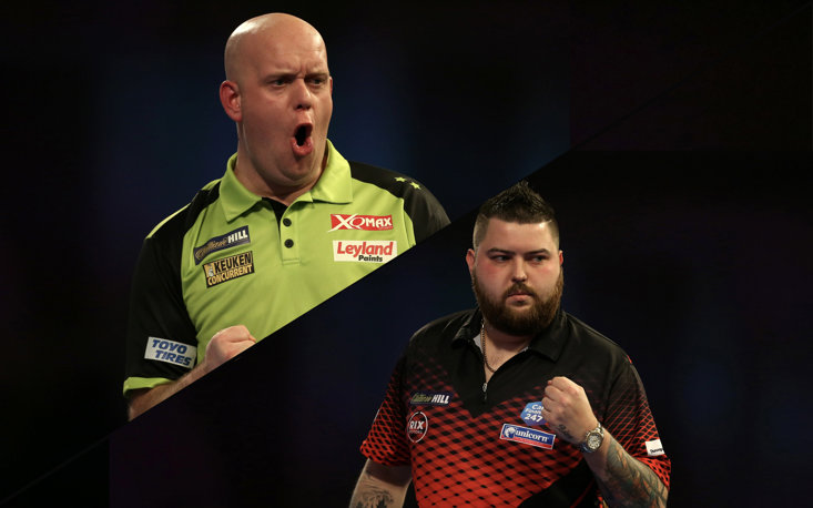 Fancy winning £180 for FREE with The Perfect Treble for van Gerwen v Smith on January 1