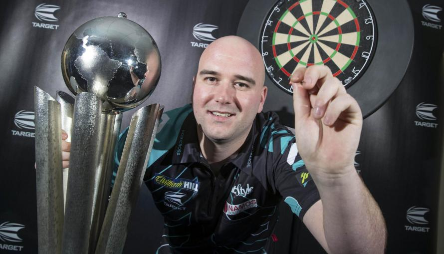 Rob Cross will head to the Alexandra Palace as the reigning champion