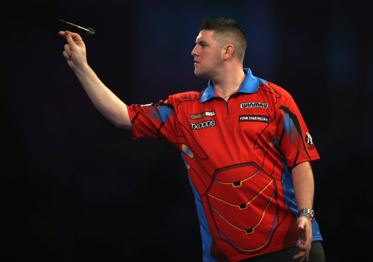 Daryl Gurney produced a fine performance over Ross Smith last night