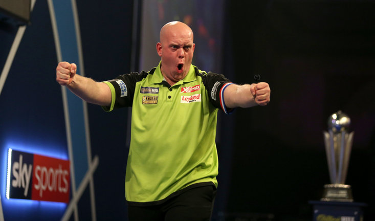 Michael van Gerwen has claimed his third PDC World Darts Championship