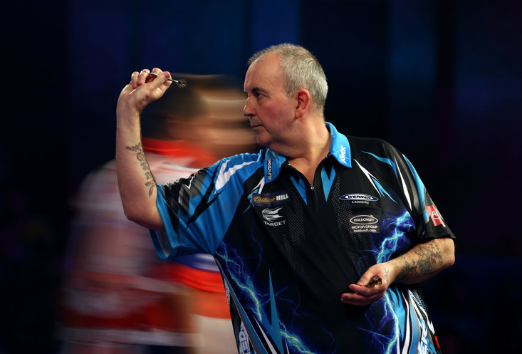 Phil Taylor won a staggering 16 World Matchplay titles