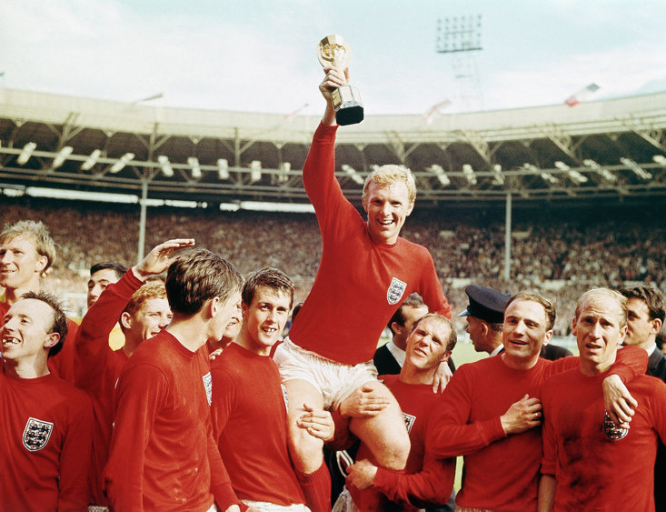 England emerged victorious in 1966, the last time a football World Cup was hosted on the British Isles
