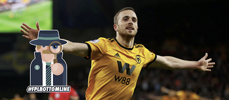 Diogo Jota has impressed for Wolves in his Premier League debut season
