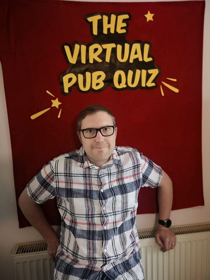 JAY'S VIRTUAL PUB QUIZ ATTRACTED 180,000 PEOPLE