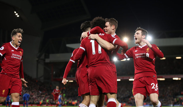 Liverpool have been in sensational form in 3pm kick-offs this season