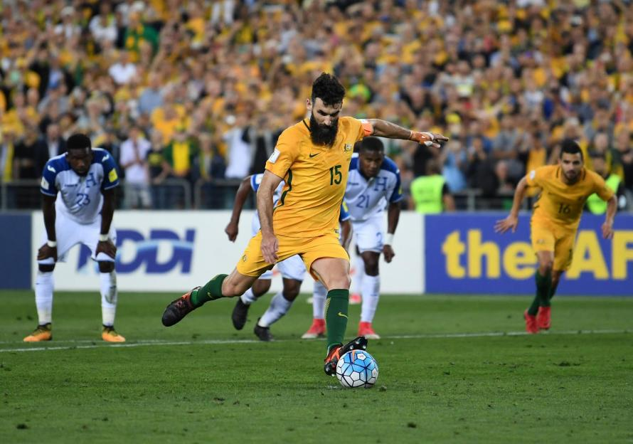 Australia beat Honduras to qualify for Russia World Cup