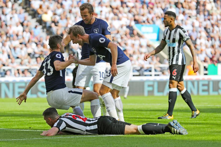 Moussa Sissoko Plays - Tottenham Hotspur Team vs Newcastle United Confirmed